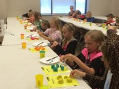 Using Play Doh to Learn About Topsoil