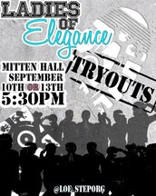TRYOUTS ARE HERE!
