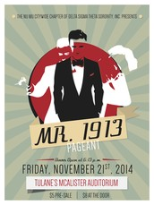 Mr. 1913 Pageant