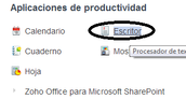 ,- Cómo compartir un documento de Word en Zoho a un correo electrónico.