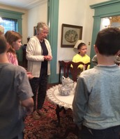 Students Learn About the History of Greenfield Hall