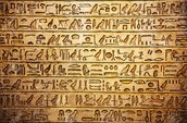 Different types and forms of hieroglyphics and how they were written