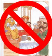 Luther was not in favor of the church selling indulgences