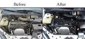 Limpieza y detallado de motores