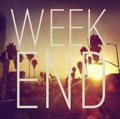 What to do this weekend???
