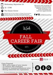 Career Development Spotlight: Fall Career Fair Prep