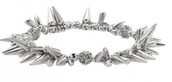 Renegade Cluster Bracelet - Silver **SOLD**
