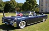 Why was this the last car Kennedy rode in?
