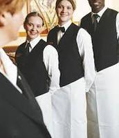 Professional Looking waitress