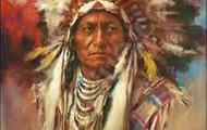 Sitting Bull in Canada.