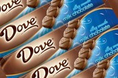 Dove candy!!