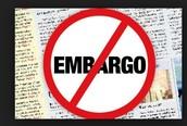 Head lines with Embargo!