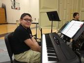 Jacob Juarez and Nick Koon - our rhythm section!