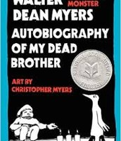 Autobiography of my dead brother by Myers Walter Dean