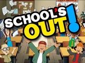 June 1st: Last day of School!