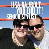 Senior Stylist Lisa Raubolt of Orland Park, Illinois