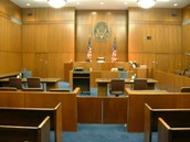 In the court house