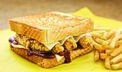 Barbeque Chicken Strip Sandwich