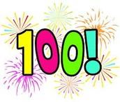 100th day Theme