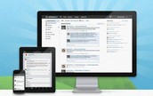 For Teachers:  Using Schoology with an  iPad