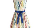 3. In the Key of Chic Dress in Polka Dots