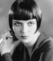 Louise Brooks helped popularize the bobbed haircut.