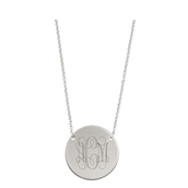 Signature Engravable Disc (Her Initials) ($69)