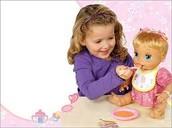 Me gustaba jugar con muñecas.