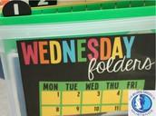 Wednesday Folders
