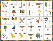 The hieroglyphics dictionary