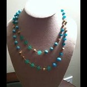 Aileen Turquoise Necklace $30.00