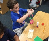 Sight word holiday chain