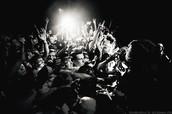 Один из первых альтернативных рок-фестивалей на территории России