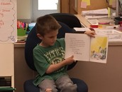 Mr. Ben fills in at story time!