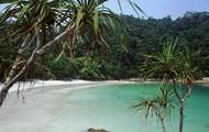 A beautiful beach in Malaysia
