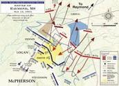 Battle of Vicksburg Map