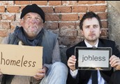 difference between homeless and jobless