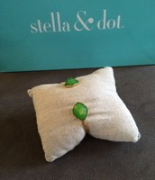 Serenity Stone Cuff Green - $20