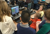 Wolff 5th Graders Creating in Minecraft