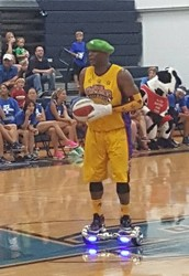 Fun at the Harlem Wizards Event!
