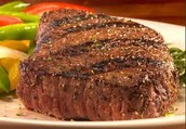 This restaurant sells steak