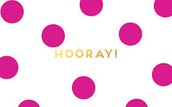 Hooray for...