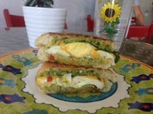 Island Organics Yummy Sandwiches.