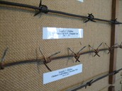 Some of the First Barbed Wire