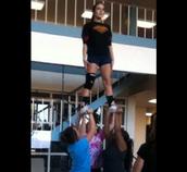 West JV Cheerleading