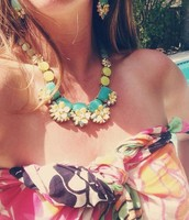 Terrace Blooms Collar Necklace now $49