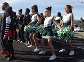 The QMS Cheerleaders Performed