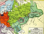 1320-1500 A.D.-Moscow becomes the most powerful Russian principality