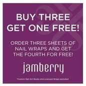Buy 3 regular catalog wraps, get 1 Free!