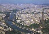 Overlook of Paris